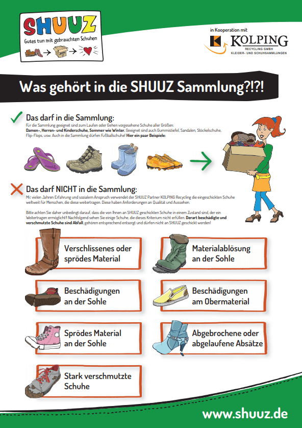 SHUUZ - Gutes tun mit gebrauchten Schuhen